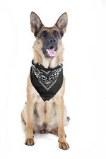 2 Pack Paisley Polyester Pets Dogs Bandana Triangle Shape  - Oversized