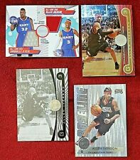 2005-06 Topps First Row Dual Relics O'NEAL IVERSON Black and White Gold Rainbow