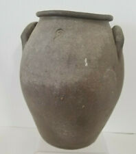 Antique 1800s Stoneware Jug Vase Hallmarked #2 Grey Thick Heavy Could be Older