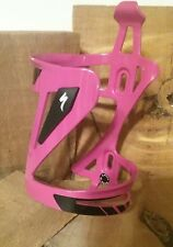 NEW Specialized ZEE Bike Bicycle Water Bottle Cage - Pink/Purple color