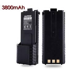 Black Baofeng Pofung 3800mAh 7.4V BL-5L Li-ion Extended Battery for UV-5R Radio