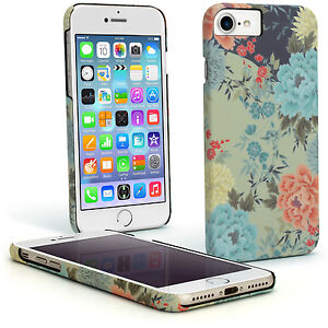 """Print Design Snap on PC Hard Case for Apple iPhone 6, 6S & 7 4.7"""" Back Cover"""