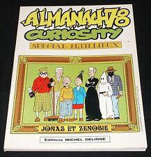 Tillieux - Almanach 78 Curiosity - Deligne