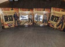 Rare Walking Dead Season 1 Action Figures ( Complete Big Card Set) NIB McFarlane