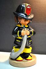 1977 ANN'S ORIGINAL FIREMAN FIGURINE COLLECTIBLE FIREFIGHTER RETIRED