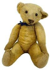 """Antique 21"""" Edwardian Early Mohair Jointed Humpback Teddy Bear -Chiltern/Steiff?"""