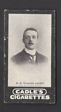 CADLE - FOOTBALLERS - H B WINFIELD, CARDIFF
