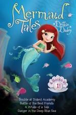Mermaid Tales 4-Books-in-1!: Trouble at Trident Academy; Battle of the Best Frie