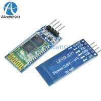 2PCS Wireless Serial 4 Pin Bluetooth RF Transceiver Module HC-06 RS232+backplane