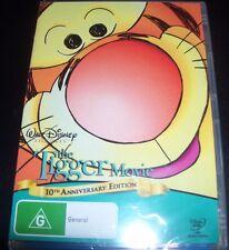 The Tigger Movie Walt Disney 10th Anniversary (Australia Region 4) DVD – New
