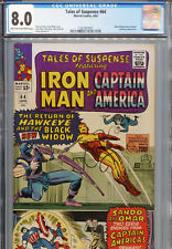 Tales of Suspense #64 (Marvel 1965) CGC Certified 8.0 Lite Tan-Off-White Pages