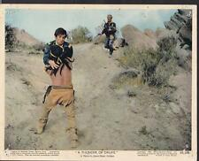 Richard Boone A Thunder of Drums 1961 original scene movie photo 27971