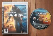 Bourne Verschwörung - 2012 Play Station 3-ps3-UK PAL Spiel keine Buch-sehr guter Zustand