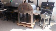 Forno a legna acciaio Metalfer con mattoni refrattari a fuoco diretto 4-6 pizze