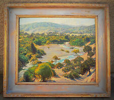 "Listed Artist, Irion Shields ( 1895-1983 )  Oil Painting - ""Berryessa Valley"""
