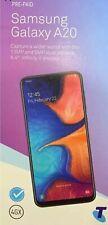 Telstra Samsung Galaxy A20 2019 (4GX, Blue Tick,  32GB/2GB)-Blue-Free Post Too!