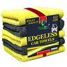 Towelogy® Edgeless Microfibre Car Cleaning Cloths Multipurpose Cleaning Towels