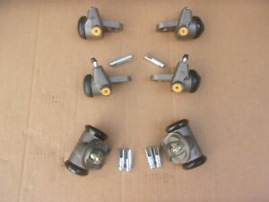 NEW 1946-1956 Plymouth Dodge Desoto Chrysler Brake Wheel Cylinder Set