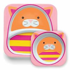 Skip Hop Zoo snack copa-Fox bebé niño comida de almacenamiento BNIP