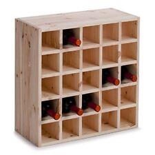 Zeller 13172 Portabottiglie di Vino legno Beige 52x25x52 cm