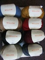 4 x 50g Sublime Willow Light Weight Chunky Wool/Yarn for Knitting/Crochet