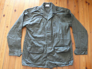 NEW REAL french army foreign legion M64 od green jacket shirt veste 92 + pin S