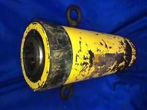 Enerpac RC-10010 Single-Acting Alloy Steel Hydraulic Cylinder with 100 Ton Capac
