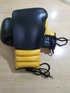Custom Made Real Cowhide Leather Boxing Gloves Any Logo or Name