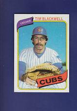 Tim Blackwell 1980 TOPPS Baseball #153 (NM+) Chicago Cubs