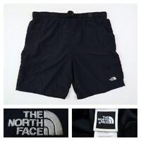 The North Face Men's Black Swim Trunks Elastic Belted Lined Shorts Size Medium