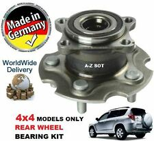 FOR TOYOTA RAV 4 2.0  D4D 2005 >2009 NEW REAR WHEEL BEARING KIT FOR 4X4 VEHICLE