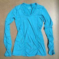 Zella 'Z 6' Long Sleeve Tee Blue Size Small NR298415MI