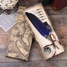 coffret cadeaux stylo a plume vintage calligraphie