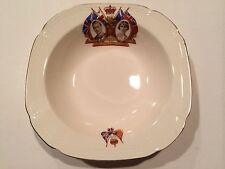 "Vintage Alfred Meakin England ""Queen Elizabeth & King George"" Coronation Dish"