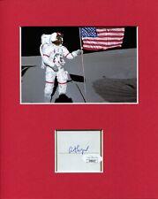 Alan Shepard NASA Astronaut Apollo Moonwalker Signed Autograph Photo Display JSA