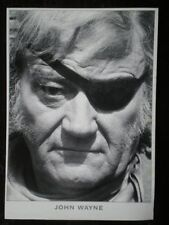 POSTCARD JOHN WAYNE - WITH A PATCH OVER HIS EYE