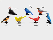BACKYARD BIRDS TOOB  #678304~  FREE SHIP in USA  w/$25+ Safari, Ltd. Products