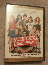 American Pie 2 (DVD, 2002, R-Rated Version; Widescreen; Collector's Edition)