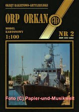 "Halinski 2 - Raketenschnellboot ORP ""Orkan"" - 1:100"