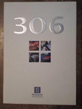 PEUGEOT 306 RANGE orig 1997 UK Mkt Sales Brochure
