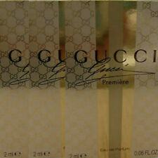 GUCCI PREMIERE EAU DE PARFUM 3 x 2ml EDP SAMPLE VIALS NEW