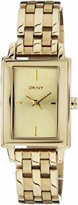 DKNY Glitz Quartz Movement Gold Dial Ladies Watches NY8492