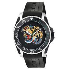 Gucci YA136318 Men's Dive Black Quartz Watch