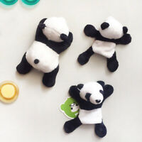1X Plush Panda Fridge Magnet Refrigerator Sticker Chinese Tourist Souvenir Gift