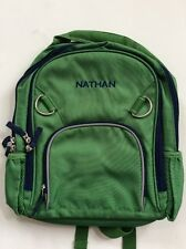 Pottery Barn Kids Small Fairfax Green and Blue Backpack with Name NATHAN New