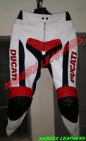 Ducati Motorbike Leather Racing Biker Riding Pants pantalones de moto-Motorradho