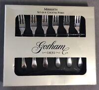 Nuremberg By Gorham Sterling Silver Cocktail Fork Man Wearing Ruffled Sleeves 6