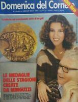 DOMENICA DEL CORRIERE N.1 1977 STEFANIA SANDRELLI