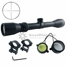 3-9X40mm Reticle Crosshair Tactical Optical Rifle Scope w/ 20mm Free Rail Mount