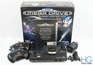 Sega Mega Drive Complete Console Boxed With Sonic The Hedgehog! PAL